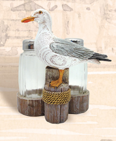 Seagull w/ Salt & Pepper Shakers