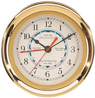 Brass Captain Tide Clock