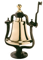 Polished Brass Victory Bell