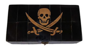 Pirate Rackham Scrimshaw Horn Box