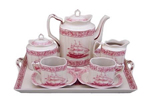 Nautical Rose Tea Set
