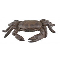 Cast Iron Crab Paperweight