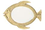Brass Fish Mirror