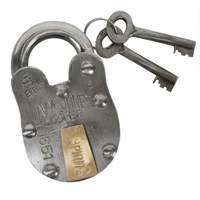 Davy Jones Locker Padlock w/ Key
