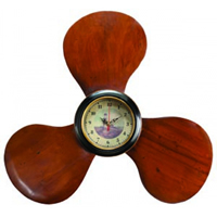 Wood Propeller Clock
