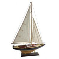 Small Wood Sailboat
