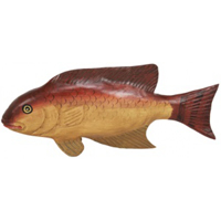 Wood Sport Fish Carving