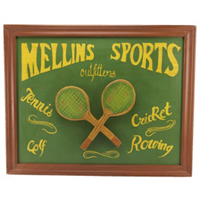 Mellins Sports Pub Sign