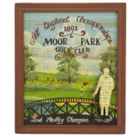 Moor Park Golf Club Pub Sign