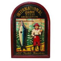 International Game Fish Pub Sign