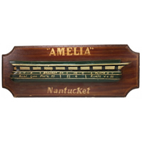Amelia Half Hull Pub Sign