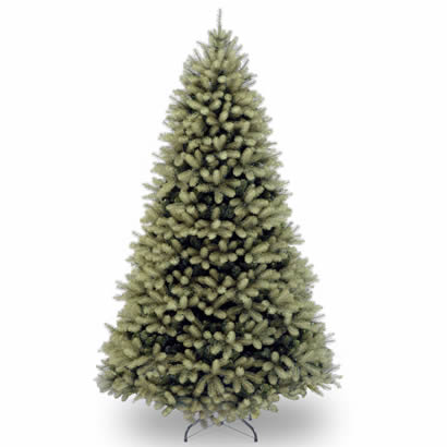 7 Ft. Feel Real Down Swept Douglas Fir Hinged Christmas Tree