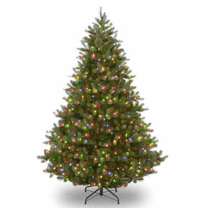 9 Ft. Feel-Real Douglas Fir Christmas Tree with 700 Multi LED Lights