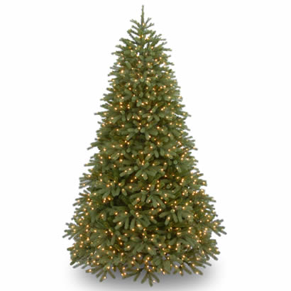 9 Ft. Feel Real Frasier Fir Christmas Tree with 1500 Clear Lights