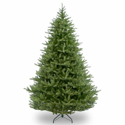 7 1/2 Ft. Feel-Real Norway Spruce Hinged Christmas Tree