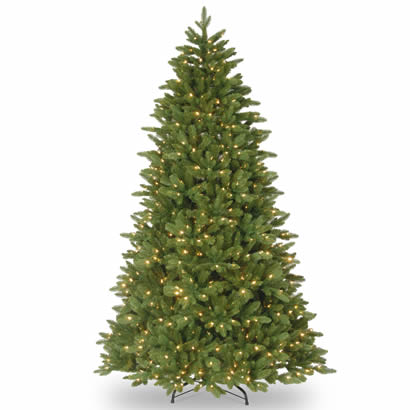 7 1/2 Ft. Feel Real Ridgewood Spruce Christmas Tree w/ 750 Clr Lights
