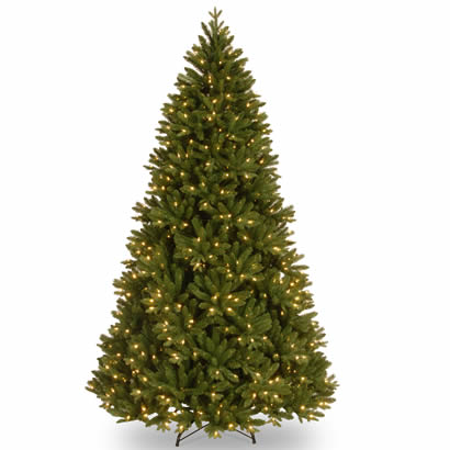 7 1/2 Ft. Feel Real Scandinavian Fir Christmas Tree w/ 750 Clr Lights