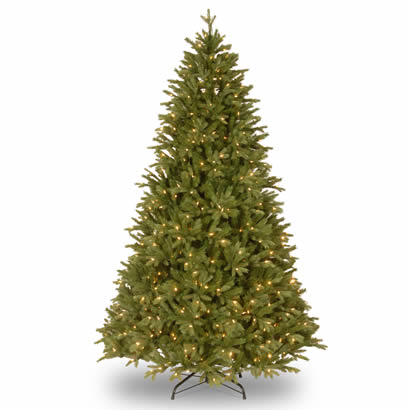 7 1/2 Ft. Feel Real Scranton Fir Christmas Tree with 750 Clear Lights