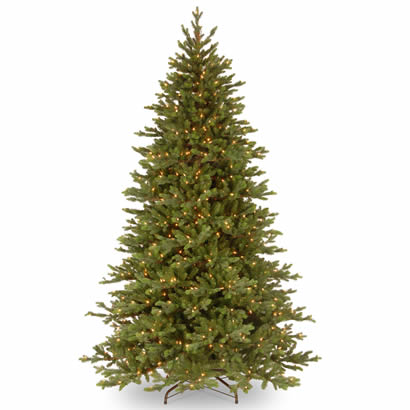 7.5 Ft. Feel-Real Yukon Fir Christmas Tree with 750 Clear Lights