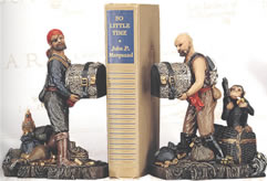 Pirate Bookends