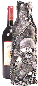Pirate Skull Wine Bottle Holder