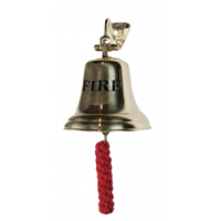Polished Brass FIRE Bell