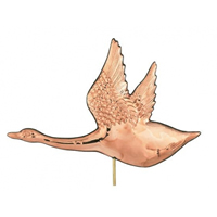 Polished Copper Canadian Goose Weathervane