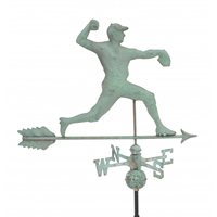 Antique Copper Pitcher Weathervane