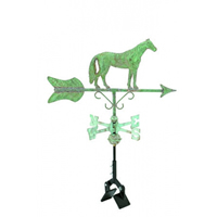 Antique Copper Horse Cottage Size Weathervane
