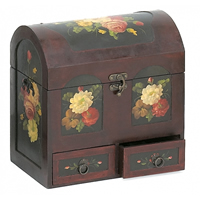 Flowers Jewelry Chest