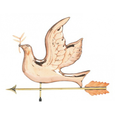 how to make a copper weathervane