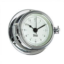 Endurance II 105 Chrome Quartz Clock