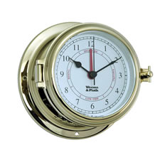 Brass Endurance II 115 Time & Tide Clock
