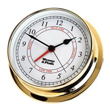 Weems & Plath Brass Endurance 125 Time & Tide Clock