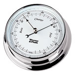 Weems & Plath Chrome Endurance 125 Barometer