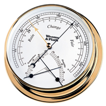 Weems & Plath Brass Endurance 145 Barometer/Comfortmeter