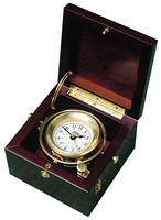 Weems & Plath Gimbal Box Clock