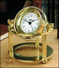 Weems & Plath Solaris Desk Clock