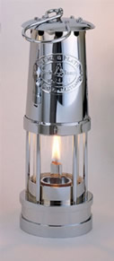 Weems & Plath Chrome Oil Yacht Lantern