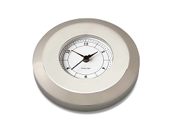 Chelsea Chart Weight Clock in Nickel