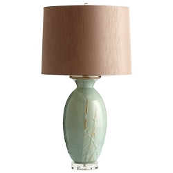 Olive Glaze Table Lamp