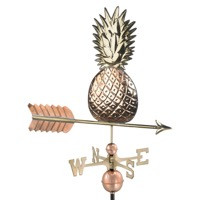 Pure Copper Pineapple Weathervane