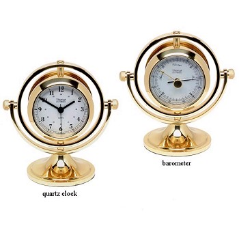 Weems & Plath Skipjack Clock and Barometer