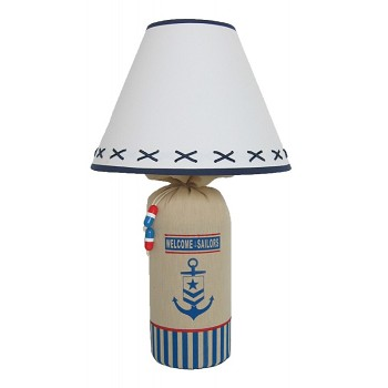 Welcome Sailors Nautical Lamp
