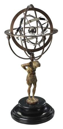 18th Century Atlas Armillary Sphere