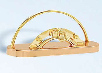 Copper & Brass Nautical Card Holder