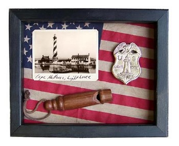 Cape Hatteras Lighthouse Shadow Box