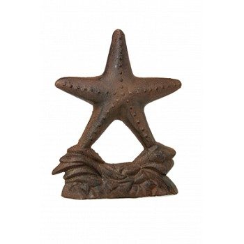 Rust Starfish Doorstop/Sculpture