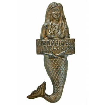 Mermaids Welcome Plaque