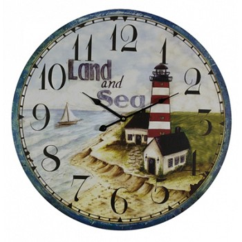 Land & Sea Lighthouse Clock